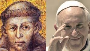 papa-francesco-e-san-francesco