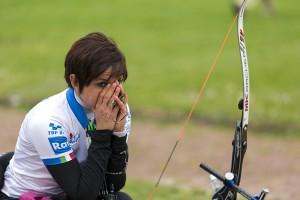 Veronica Floreno delusa dopo la mancata qualificazione paralimpica