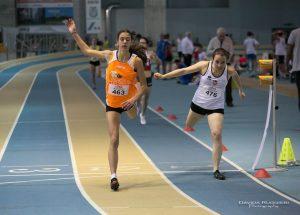 Emma Silvestri nei 400 metri