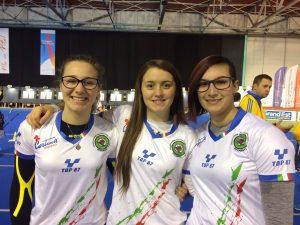 Oro per le junior olimpico Vanessa Landi, Tatiana Andreoli e Tanya Giaccheri