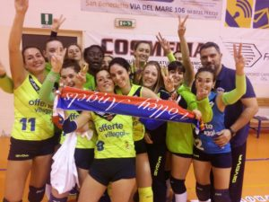 volley angels play off 2017